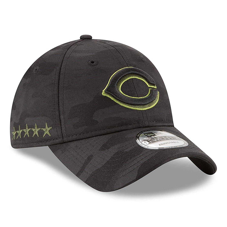 huge selection of 59f91 8c897 Amazon.com  NEW ERA OFFICIAL MLB 2018 Memorial Day 9TWENTY Adjustable Dad  Hat (Strap) – Black Black (Chicago White Sox)  Clothing
