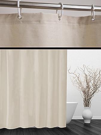 Designer Duschvorhänge designer duschvorhang cotton 180x180 cm incl ringe vorhang