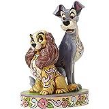 Enesco 4046040 Figurine Belle et le Clochard 60eme Anniversaire 16,5 cm