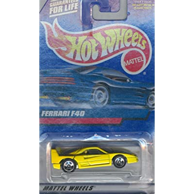 Hot Wheels 2000 122 FERRARI F40 1:64 Scale: Toys & Games [5Bkhe1103224]