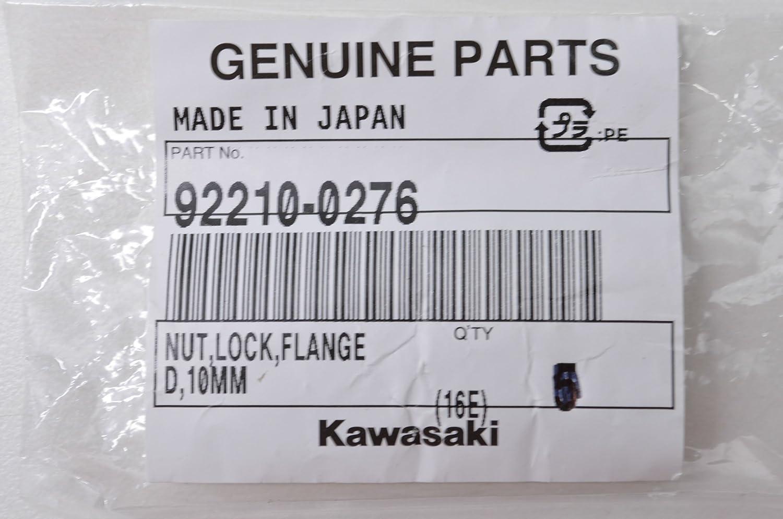 Amazon.com: Kawasaki 92210 – 0276 tuerca, Lock, de rosca ...