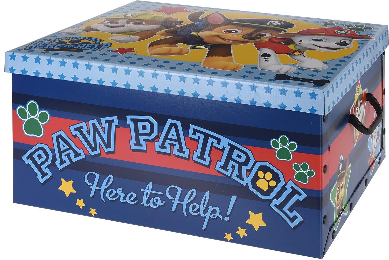 Disney Frozen Cars Paw Patrol Cardboard Room Tidy Toy Storage Gift Box Chest (Frozen) Excellent Houseware