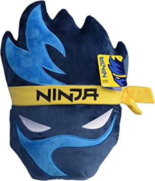 Amazon.com: Wicked Cool Toys Ninja Gamer Almohada de felpa ...