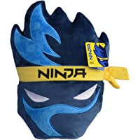Wicked Cool Toys Ninja Gamer Chair Plush Pillow - Game Room Accessory and Chair Cushion - Iconic Ninja Streamer Logo…