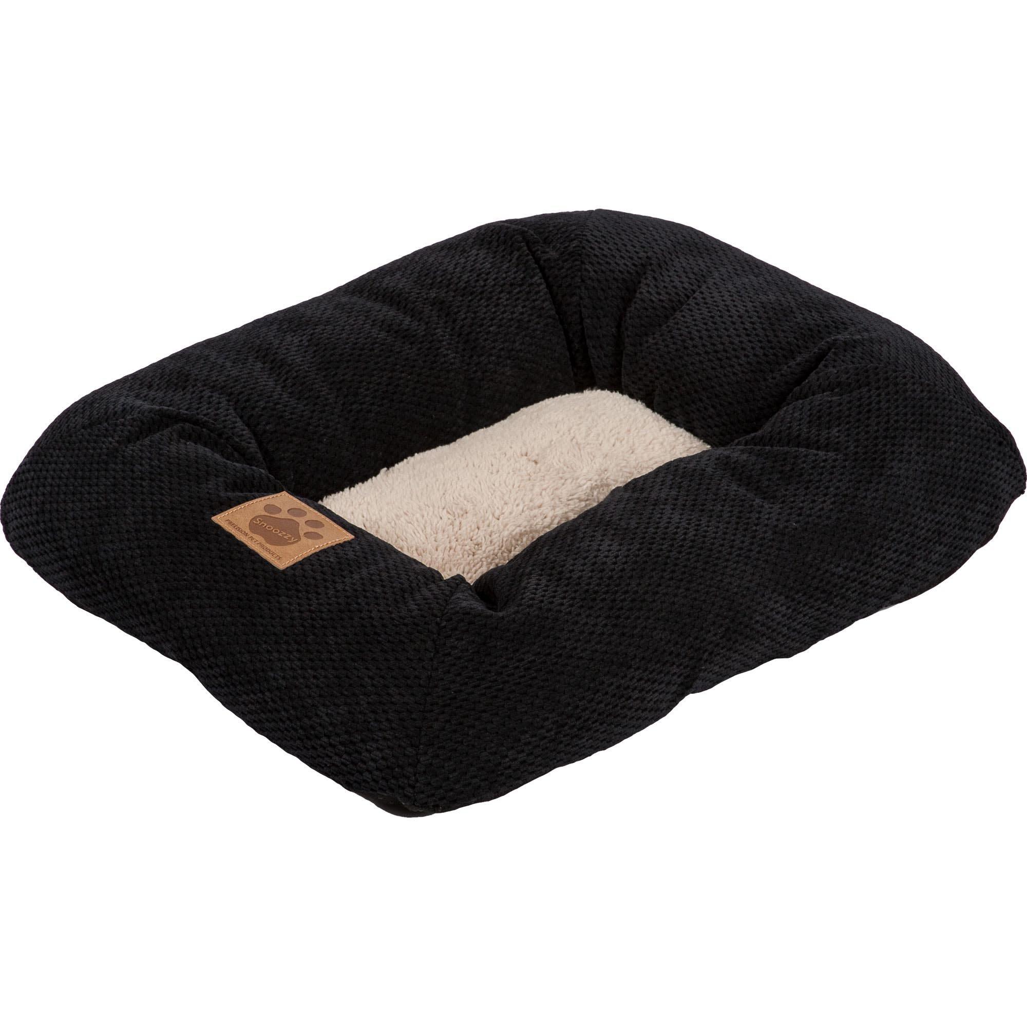Precision Pet, SnooZZy Mod Chic Low Bumper Mat, 1000 Black