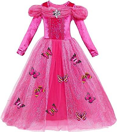 YOSICIL Disfraz de Cenicienta Parte Vestido de Ceremonia Princesa ...