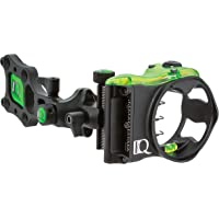 Field Logic IQ Bowsights Micro 3, 5 o 7 Pin Compound Bow Archery Sight con tecnología de Bloqueo de Retina – Mano Izquierda y Derecha