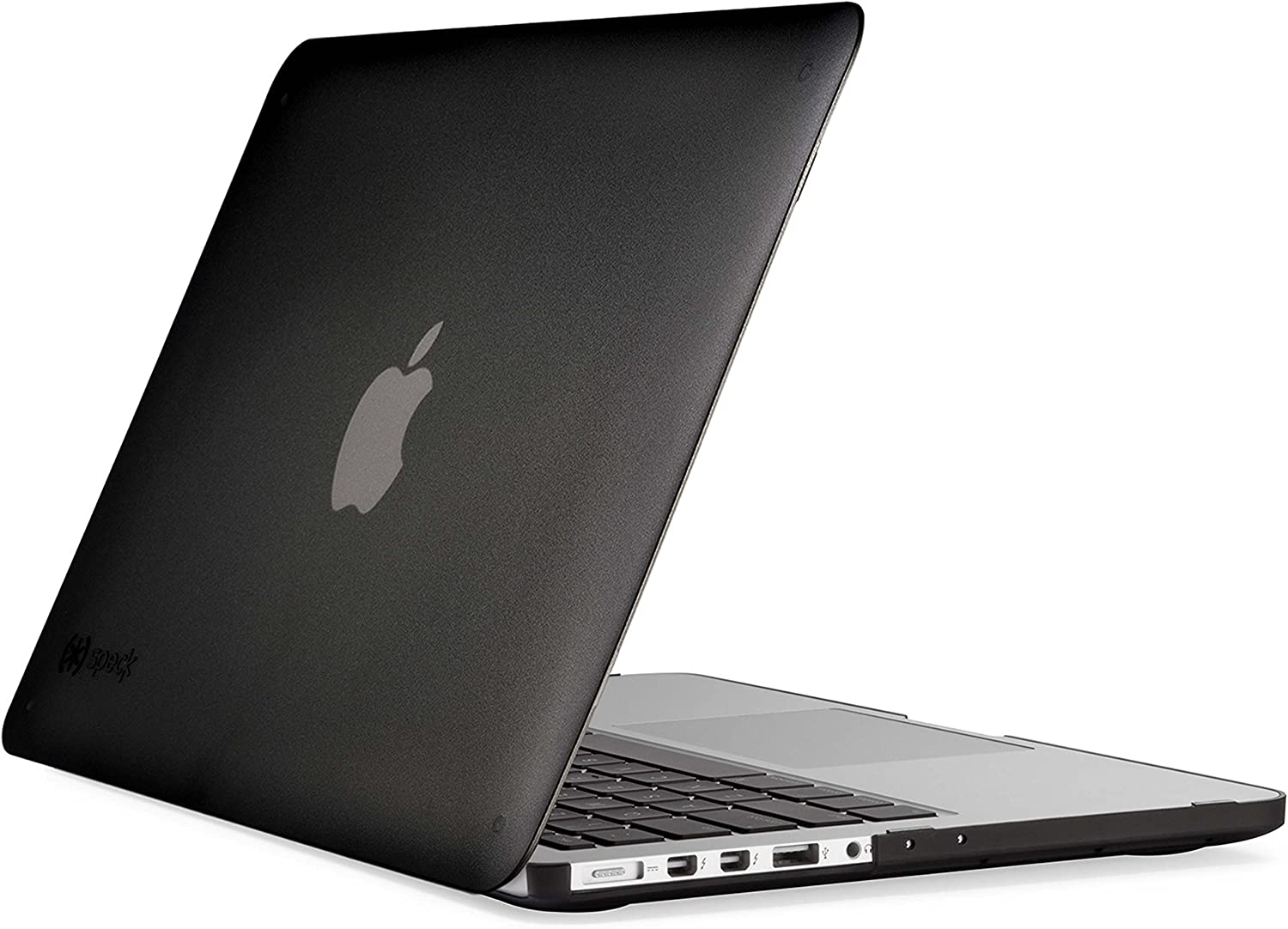 Speck Products See Thru Onyx Case for Macbook Pro 13 Inch with Retina Display, Black Matte