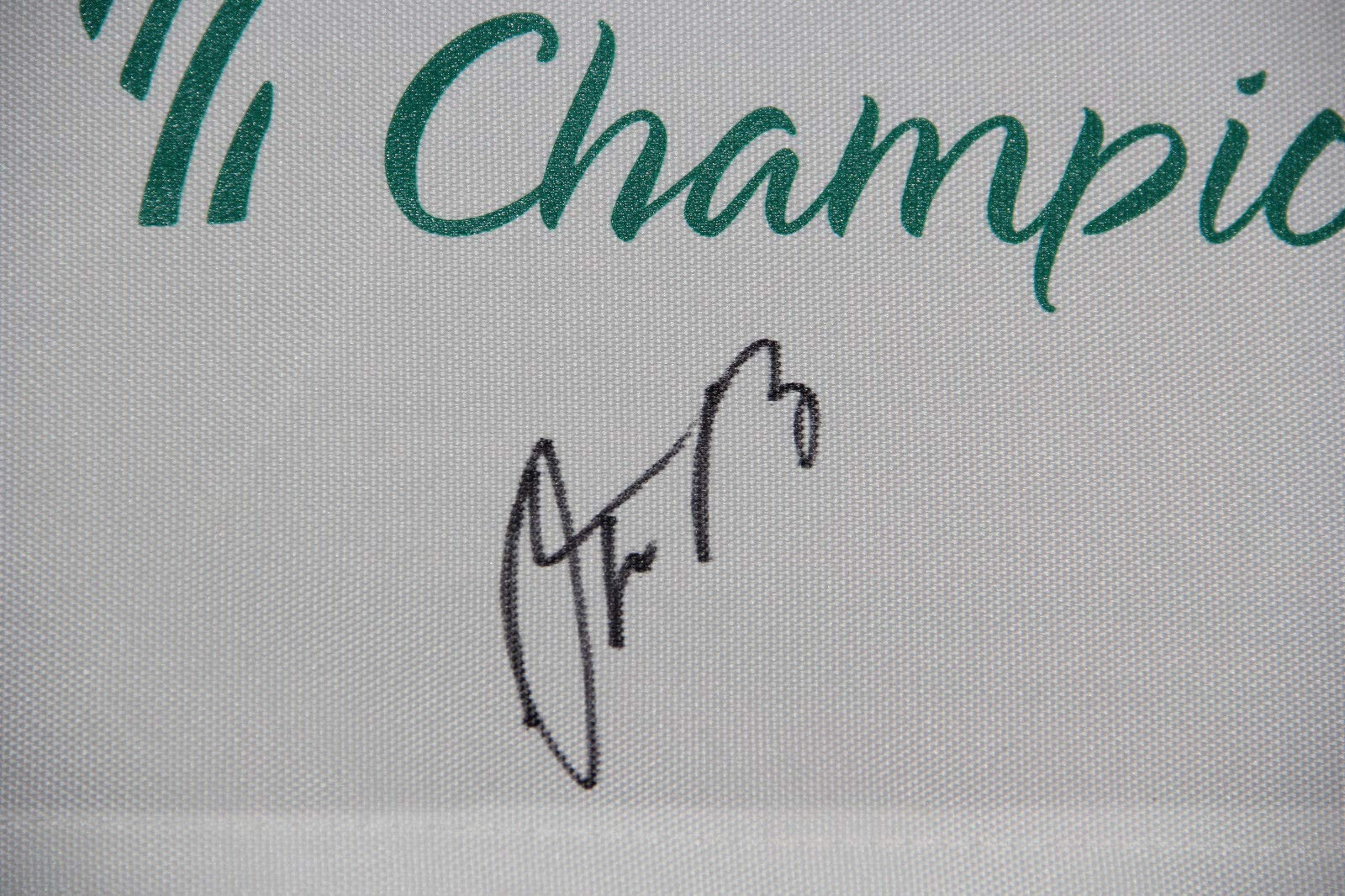 Aaron Rodgers Autographed Signed Auto American Century Championship Flag Bas #F00029 Packers