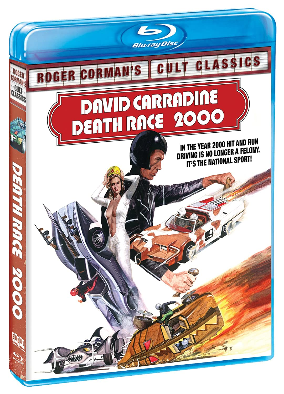 Death Race 2000 (Blu-Ray) Simone Griffeth David Carradine Simone Griffith Sylvester Stallone