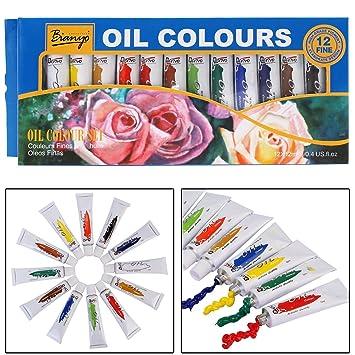 13691777470e Bianyo Oil Color Set for Artist - 12ml Tubes