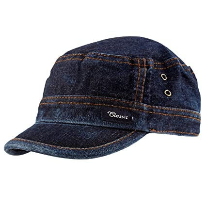9d796488ecc Buy Motoway Trendy Denim Cap for Men Women Online at Low Prices in India -  Amazon.in