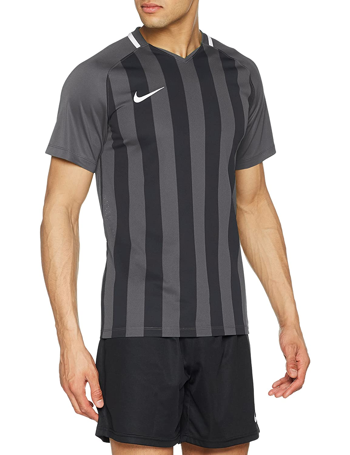 Hombre Nike Mens Striped Division III Football T-Shirt
