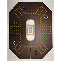Jackaroo game for 6 players foldable brown board