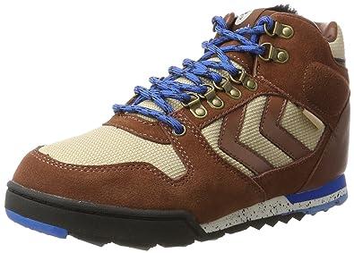 8c74152915f Hummel Unisex-Erwachsene Nordic Roots Forest Hohe Sneaker, Braun (Friar  Brown),