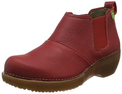 El Naturalista S.A N5004 Mary Jane Chaussures Compensées Femmes, Rouge (Tibet), 40 EU