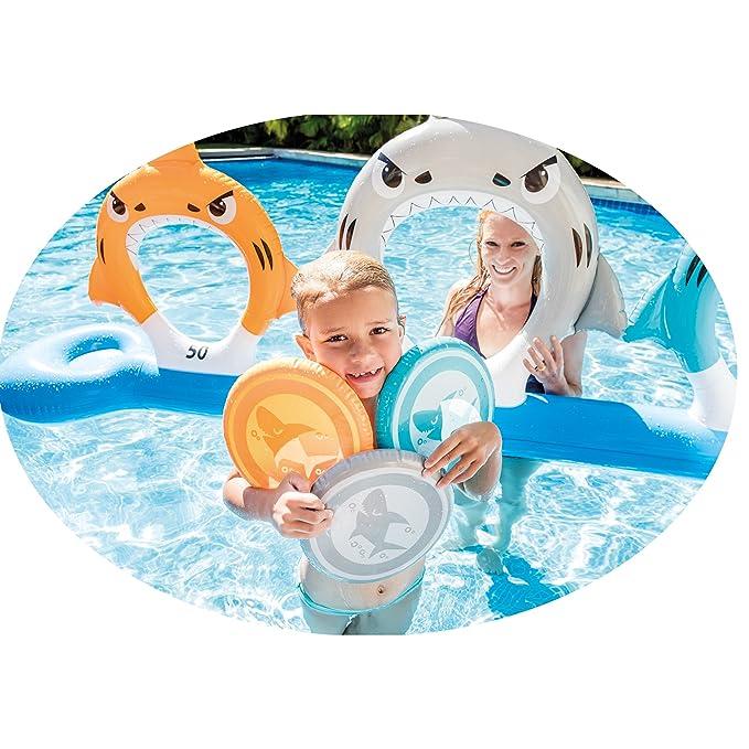 Intex 57501 - Alimentar a los tiburones, Juego de Frisbee: Amazon.es: Juguetes y juegos