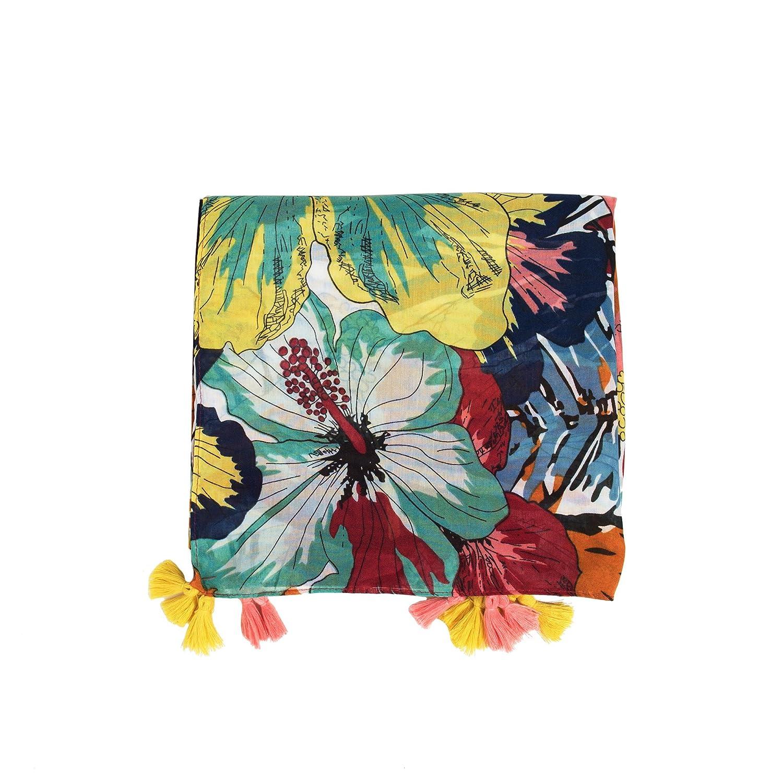 Parfois - Fular Estampado Wild Flowers - Mujeres