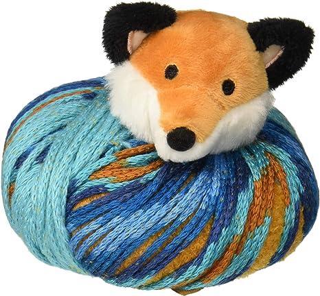 DMC Top This knitting Hat Kit FOX