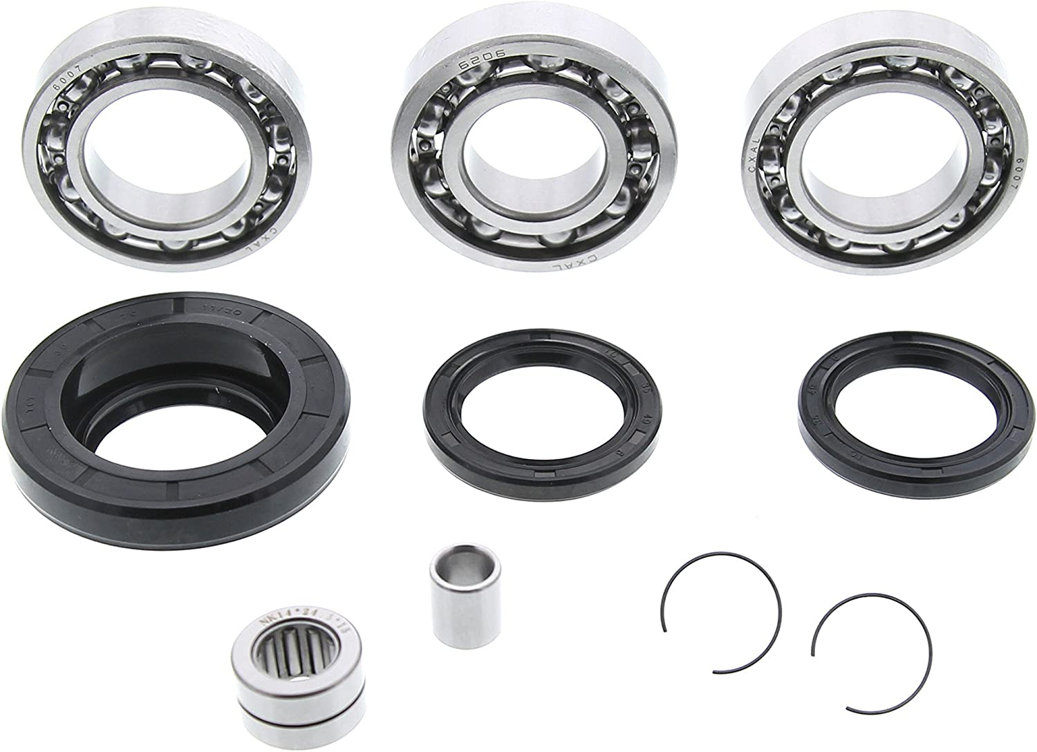 [DIAGRAM_3ER]  Amazon.com: Fits Honda Foreman 450 TRX450 Rear Differential Bearing and Seal  Kit: Automotive | Honda Atv Pinion Bearing Removal 450 |  | Amazon.com