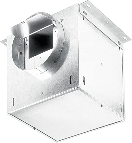 Broan-NuTone L250L Ventilator Fan, 245 CFM 2.3-Sones Straight Through 238 CFM 1.7-Sones Right Angle