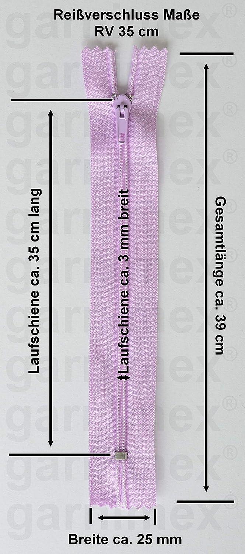 2,25 EUR//Stück 2 Reißverschlüsse mit Zähnchen 35cm teilbar Kunstoff für Jacken