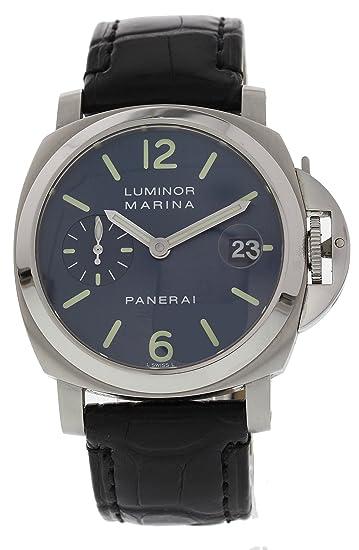 Panerai Luminor Mari Reloj De Viento Automático Pam70 para Hombres