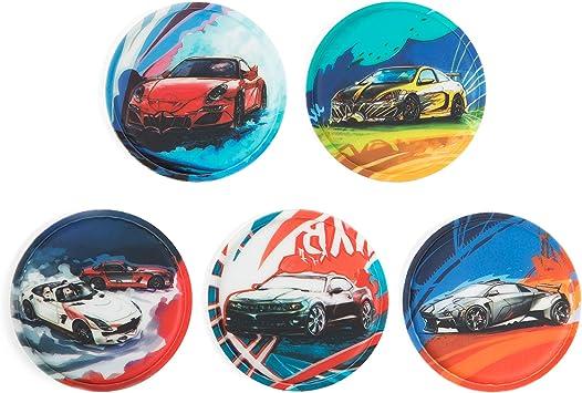 Ergobag Klettie set de 5 pcs diff/érents motifs 7,5 cm