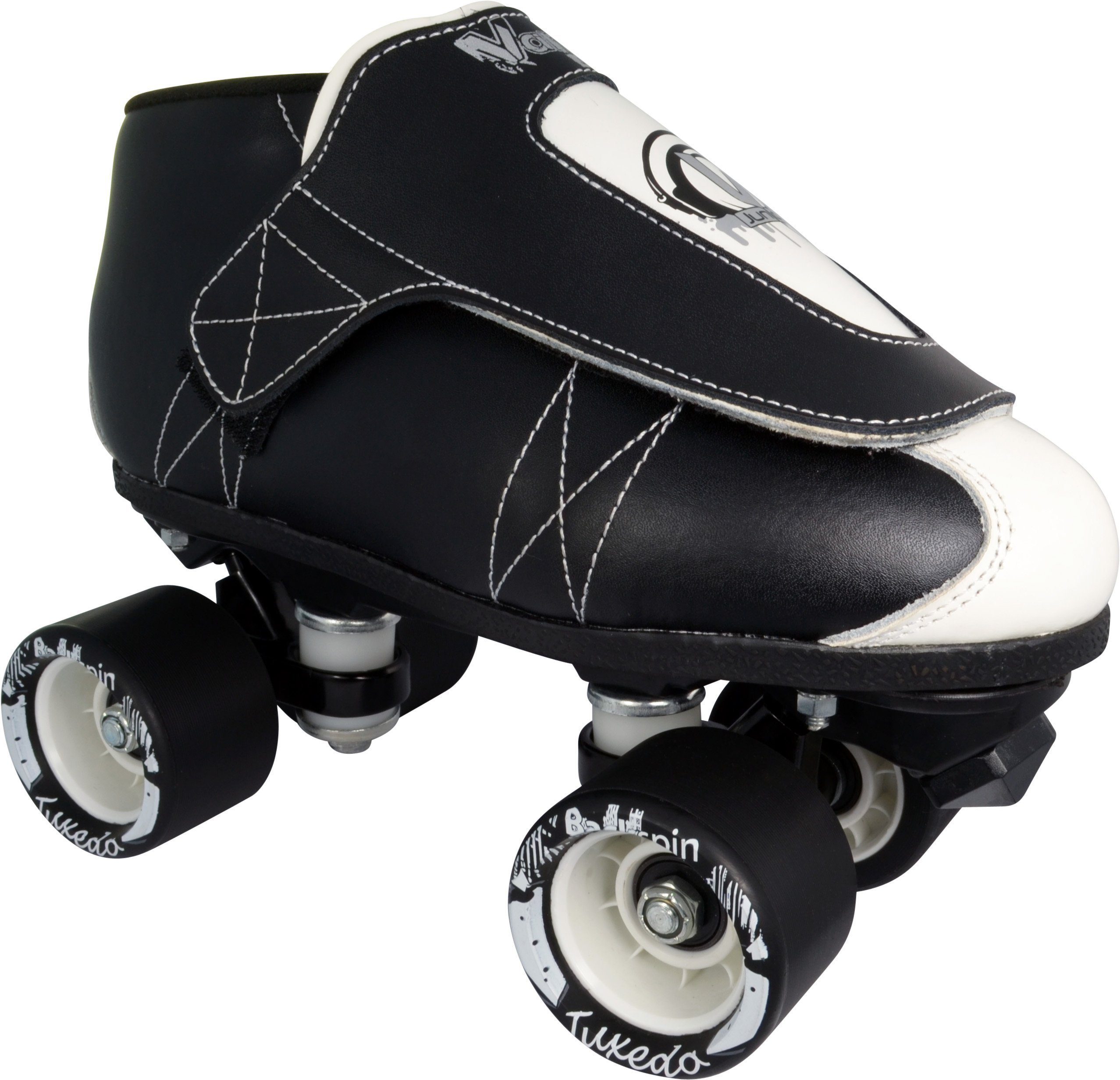 Vanilla Jr. Tuxedo Quad Speed Roller Jam Skates (Mens 12) by VNLA