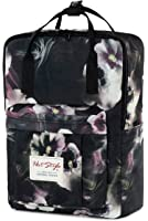 Womens Floral Backpack Purse - HotStyle Bestie Waterproof Two-way Carry Diaper Bag