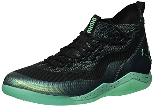 PUMA Mens 365 Ignite Fuse 1 Soccer Shoe, Black-Biscay Green, ...