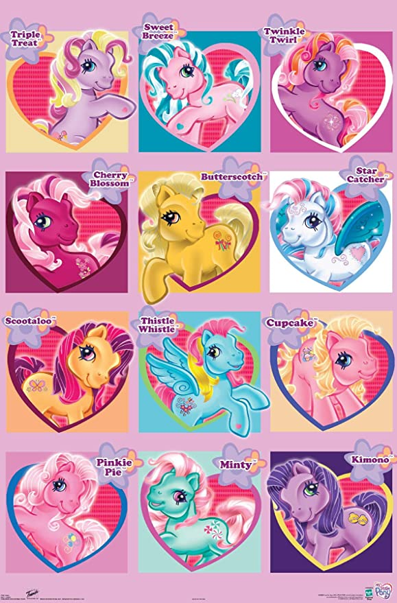 Amazon Com Trends International My Little Pony Chart Wall Poster 22 375 X 34 Posters Prints She is friends with sweetie belle and apple bloom. trends international my little pony chart wall poster 22 375 x 34
