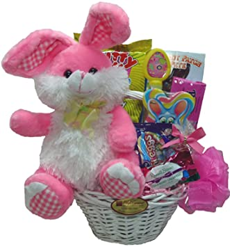 Amazon delight expressions easter bunny easter gift basket delight expressions quoteaster bunnyquot easter gift basket for kids easter gift basket negle Image collections