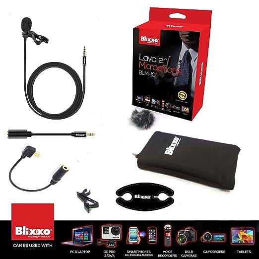 2 opinioni per Professional Lavalier lapel- Microfono/Mini vivavoce stereo microfono a