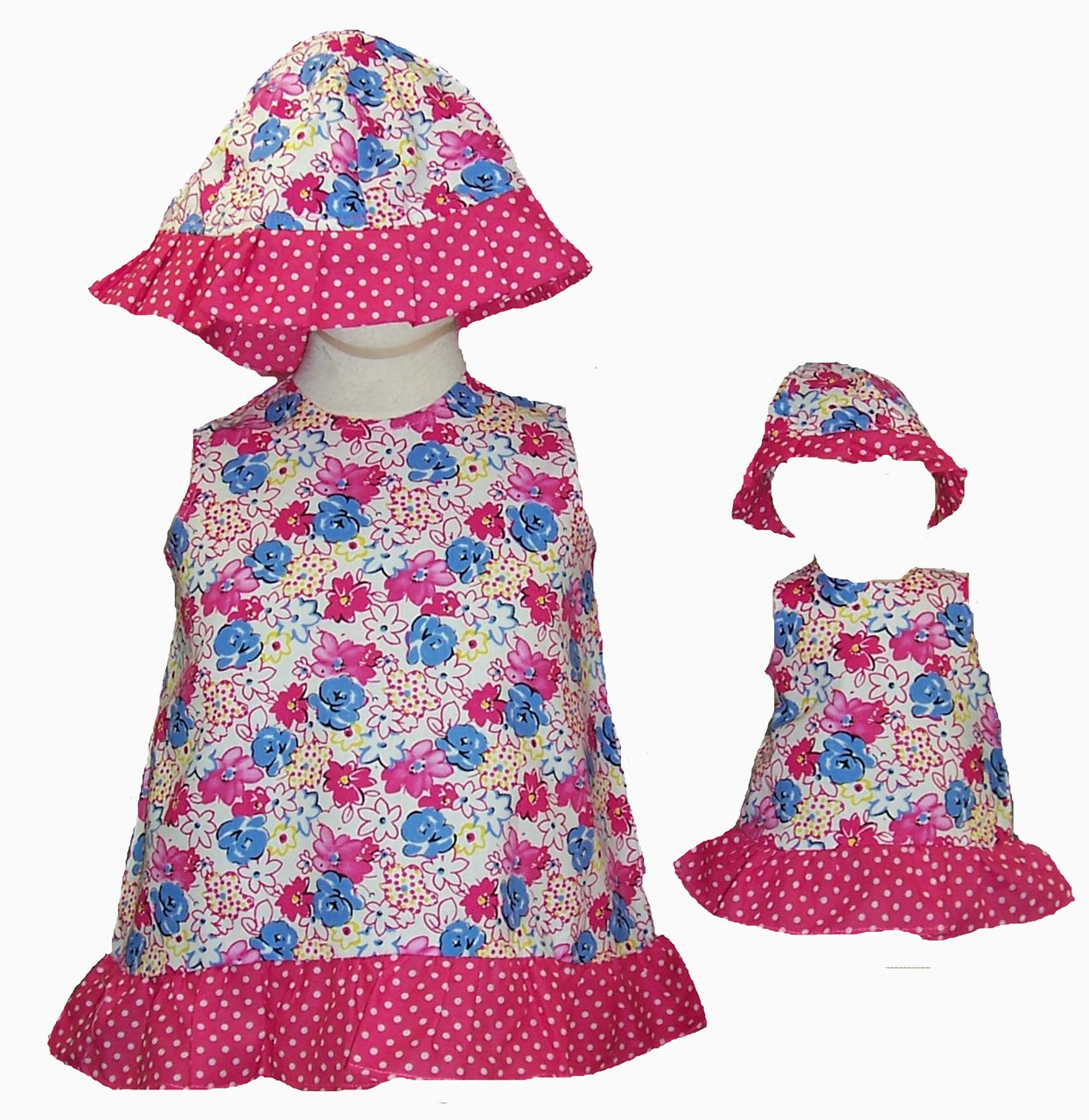 Toddler Large Clothes Large Size Ruffle Matching Girl and Doll and Clothes B0104U828M, co100percent:794f86dc --- arvoreazul.com.br