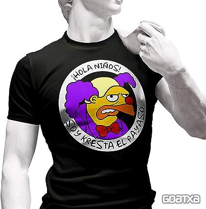 Soy Kresta el Payaso - Camiseta de Manga Corta: Amazon.es ...