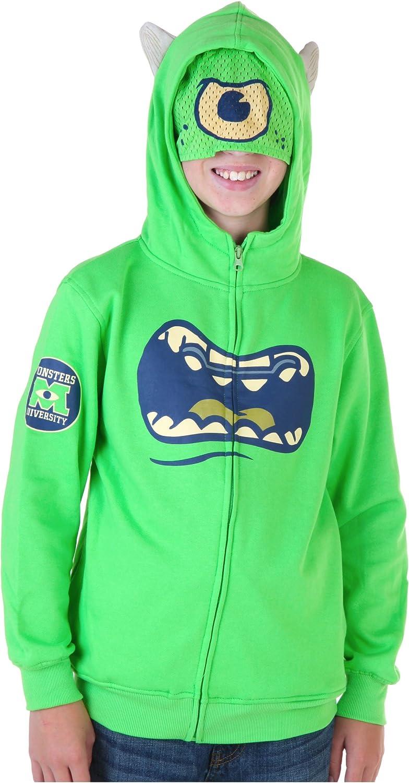 Disney Monster Uni Joven Mike Wazowski verde Disfraz Sudadera con ...