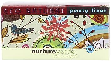 Nurture Verde 100% Natural Fully Compostable Panty Liner (48-count)