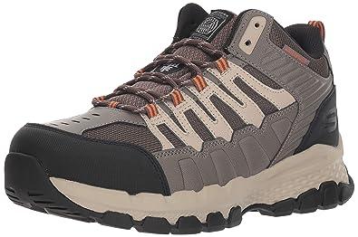 10fb9e968f049 Amazon.com: Skechers Men's Queznell Industrial Boot: Shoes