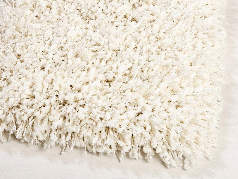 Ragolle Twilight Shaggy Teppich aus Belgien (6926 weiss-grau, (8) 200x200 cm) B0134800GS Teppiche