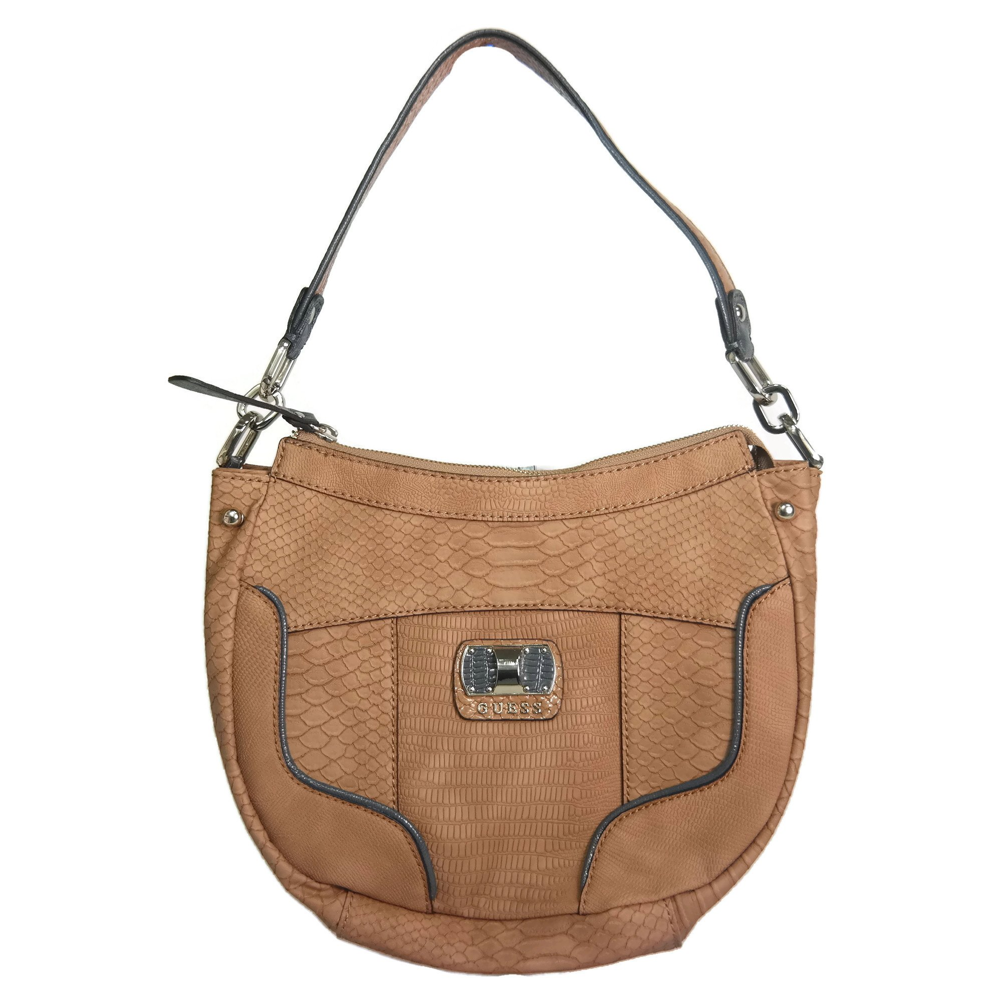 Guess Anafi Hobo Handbag Tan Multi, PG376209