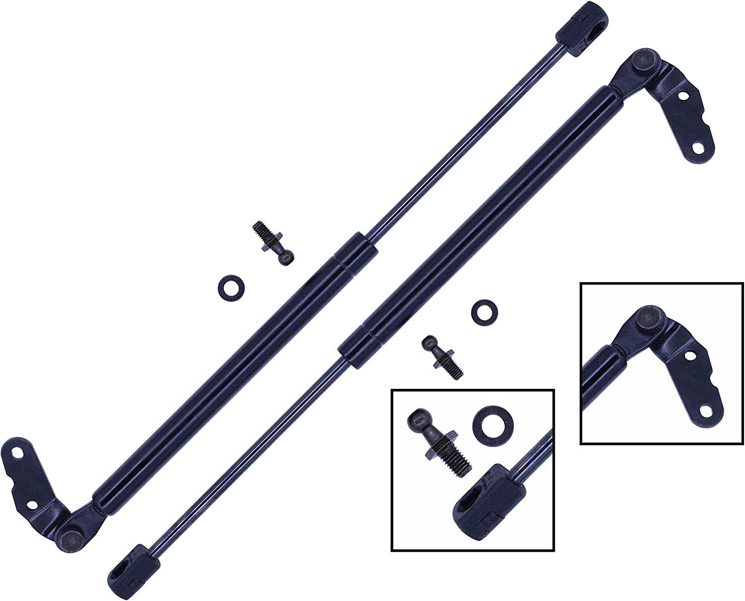 2 New Hatch Gas Lift Supports Struts Rod Arm Shocks Fit Toyota Celica 2000-2006