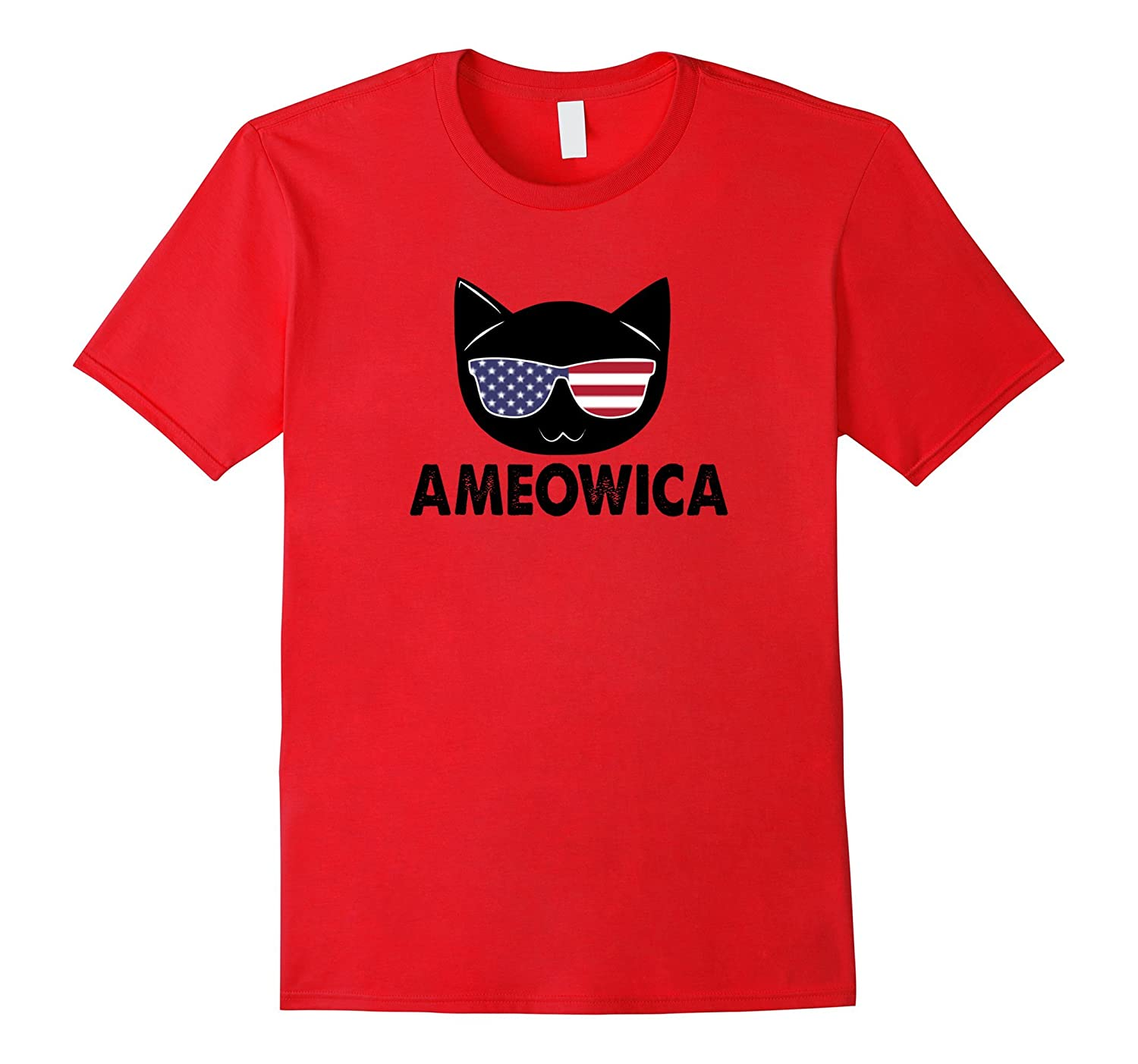 Ameowica T-shirt - Independence Day Cat Lovers T-shirt-4LVS
