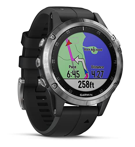 Garmin Fenix 5 Plus Multisport Watch With Music Maps And Garmin Pay