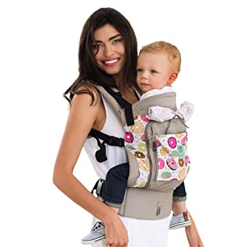 64c3641da75 Amazon.com   LILLEbaby 4 in 1 ESSENTIALS All Seasons Baby Carrier - Donut  and Sprinkles   Baby