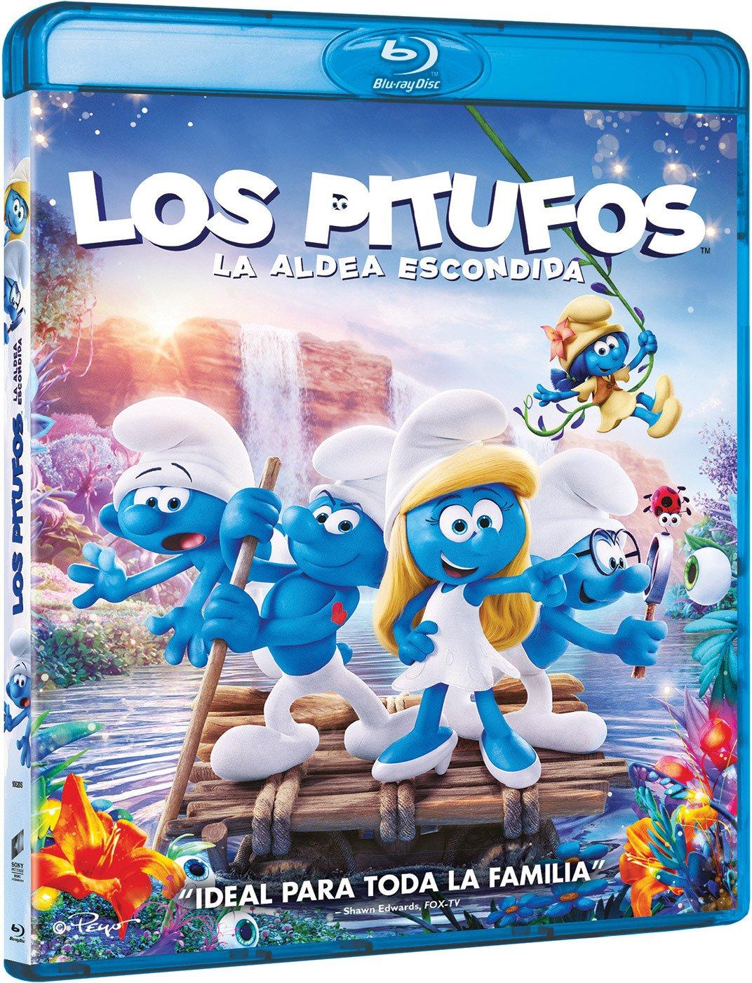 Los Pitufos: La Aldea Escondida [Blu-ray]: Amazon.es: Demi ...