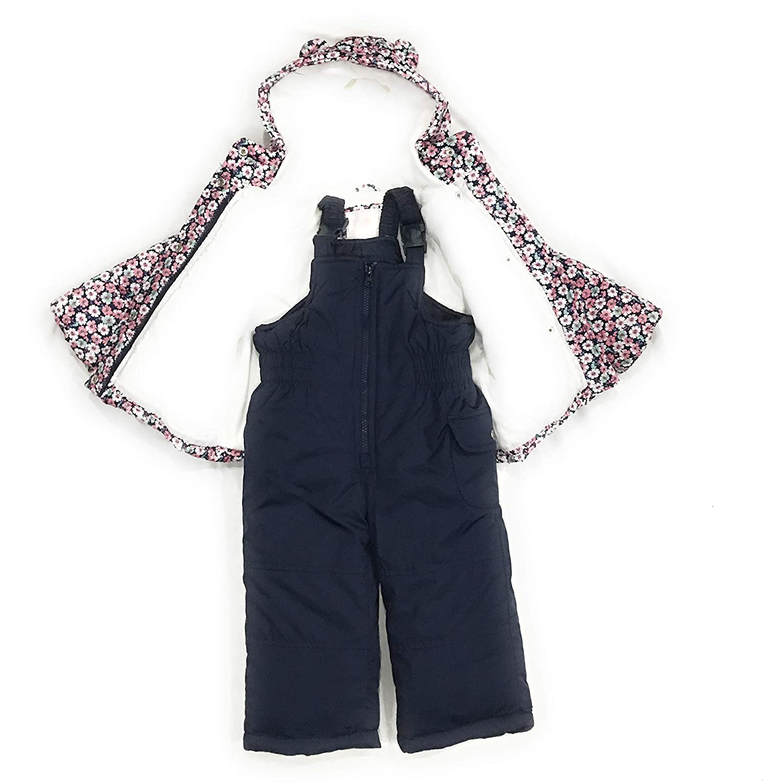 a0962817fed1 Amazon.com  Carter s Girls  2-Piece Heavyweight Printed Snowsuit ...