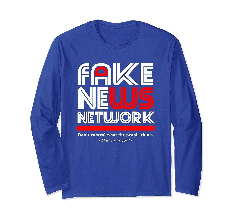Fake News Network Long Sleeve T-Shirt-anz