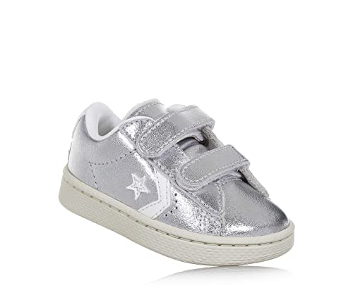 Calzature & Accessori argentati per bambina Converse Pro Leather OX
