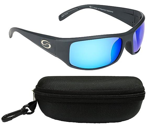 1dc5aea6d15 Amazon.com   Strike King Optics Polarized SG Okeechobee Sunglasses ...